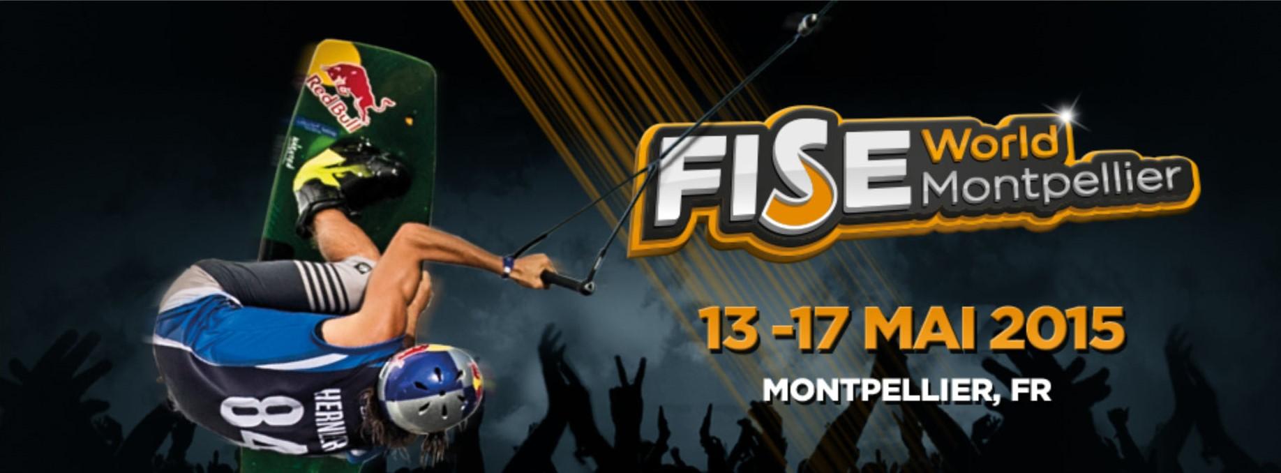 Fise World Montpellier вейкбординг 2015 флаер