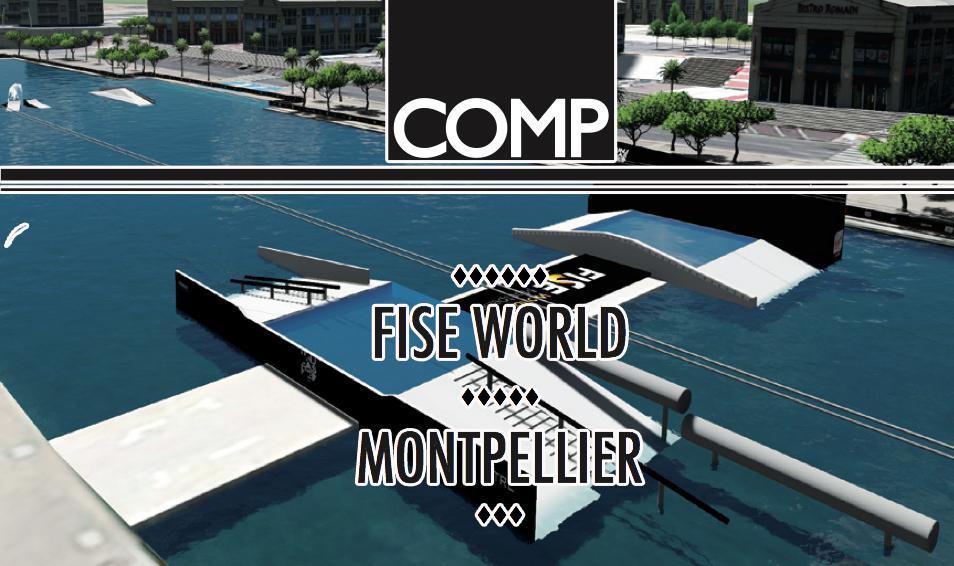 Fise World Montpellier вейкбординг 2015 вейк парк
