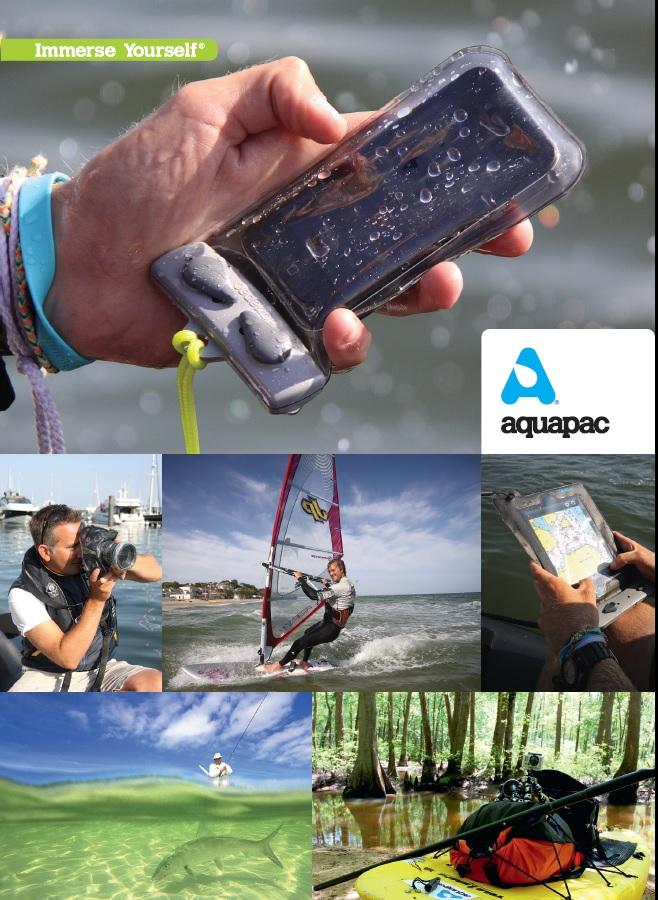 Aquapac - герметичные, водонепроницаемые чехлы, кошельки, сумки для защиты портативной техники и ценных вещей на отдыхе у воды, под водой и на природе