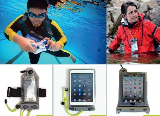 Aquapac - универсальные герметичные чехлы для коммуникаторов, смартфонов, iPhone