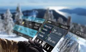 Контроль за допомогою гірськолижної маски і режими зйомки