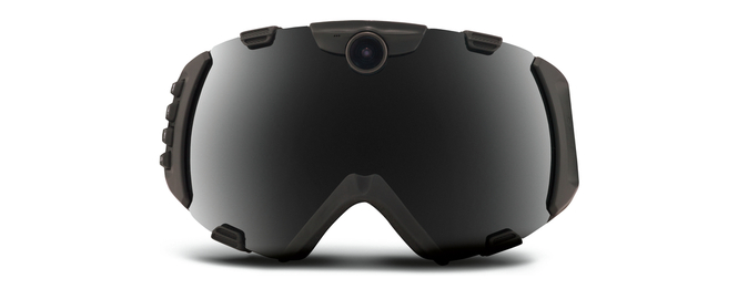 zeal hd camera goggle front view black